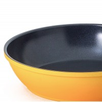 TRY ME PRICE Neoflam Amie 20cm Fry Pan Induction Yellow