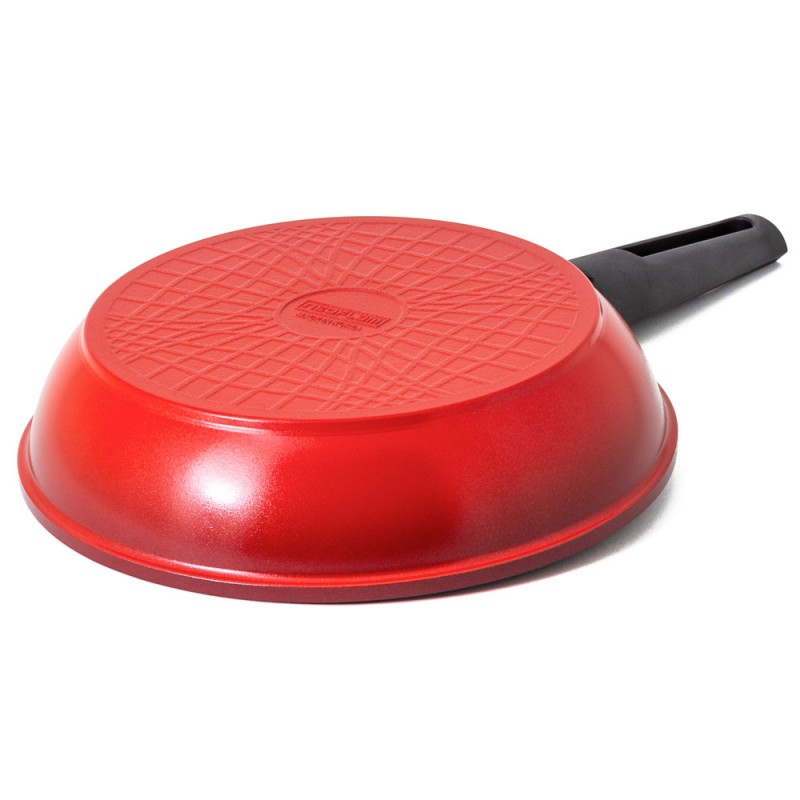 Neoflam Amie 22cm Fry Pan Induction Red  ** Online Exclusive **