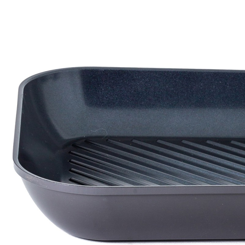 Neoflam Amie 28cm Grill Fry Pan Induction Black
