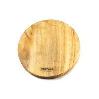 Neoflam Camphor Laurel Medium round hot placement Cutting chopping board hand made in Byron bay