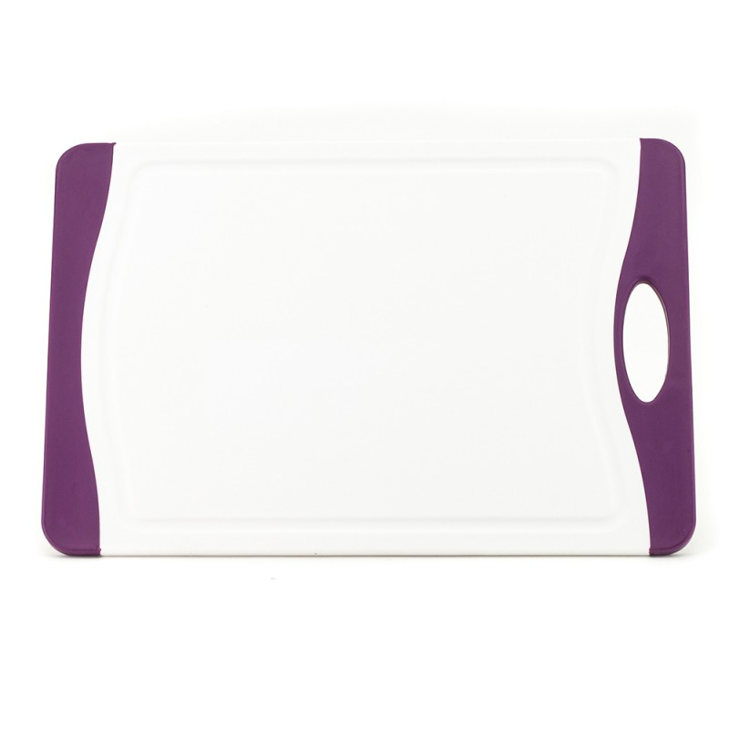 Neoflam Flutto Cutting Board Medium White with Purple