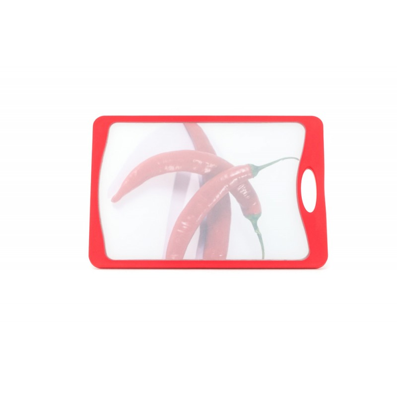 Neoflam Deco Cutting Board Medium Red with Chilli Design