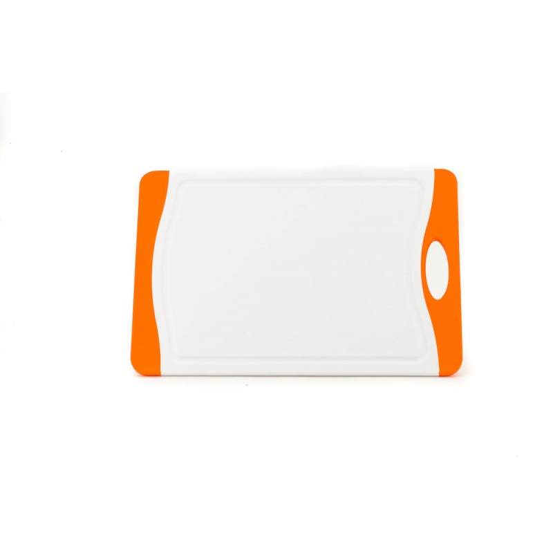 Neoflam Flutto Cutting Board Medium White with Orange