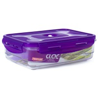 Neoflam CLOC Tritan Vacuum Container  Rectangle 1.2L - BPA Fee