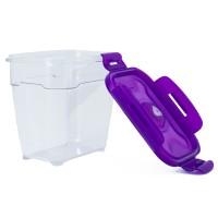 Neoflam CLOC Tritan Vacuum Container  Rectangle 1.4L - BPA Fee