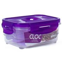 Neoflam CLOC Tritan Vacuum Container  Rectangle 600ml - BPA Fee