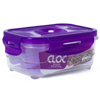 Neoflam CLOC Tritan Vacuum Seal Container 6pc Set - Rectangle