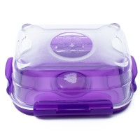 Neoflam CLOC Tritan Vacuum Container Square 800ml - BPA Fee