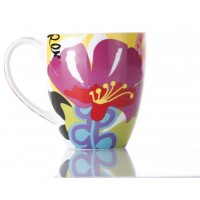 French Bull Chubby Mug 540ml Porcelain Mug Oasis