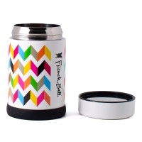 2 free French Bull Grand Jar 500ml Stainless Steel Food Jar Double Walled with BPA Free