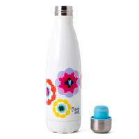 French Bull Pin 500ml Stainless Steel Tumbler Double walled Sunshine