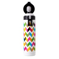 French Bull Poptop 500ml Stainless Steel Tumbler Double walled Ziggy