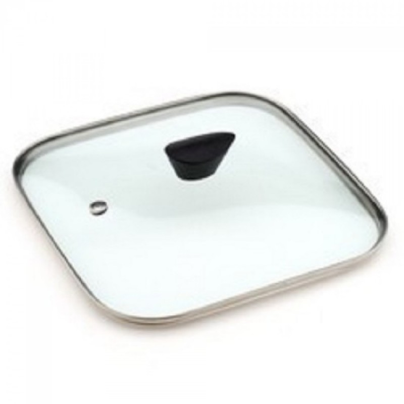 Neoflam 28cm Glass Lid Grill