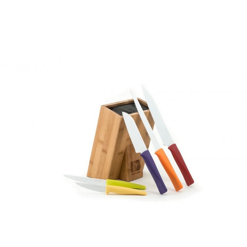 Neoflam Ergonomic Healthy Ceramic Coating Knives 6 Piece Set