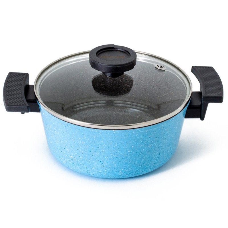 Neoflam Luke Hines 20cm Casserole Induction Marble blue