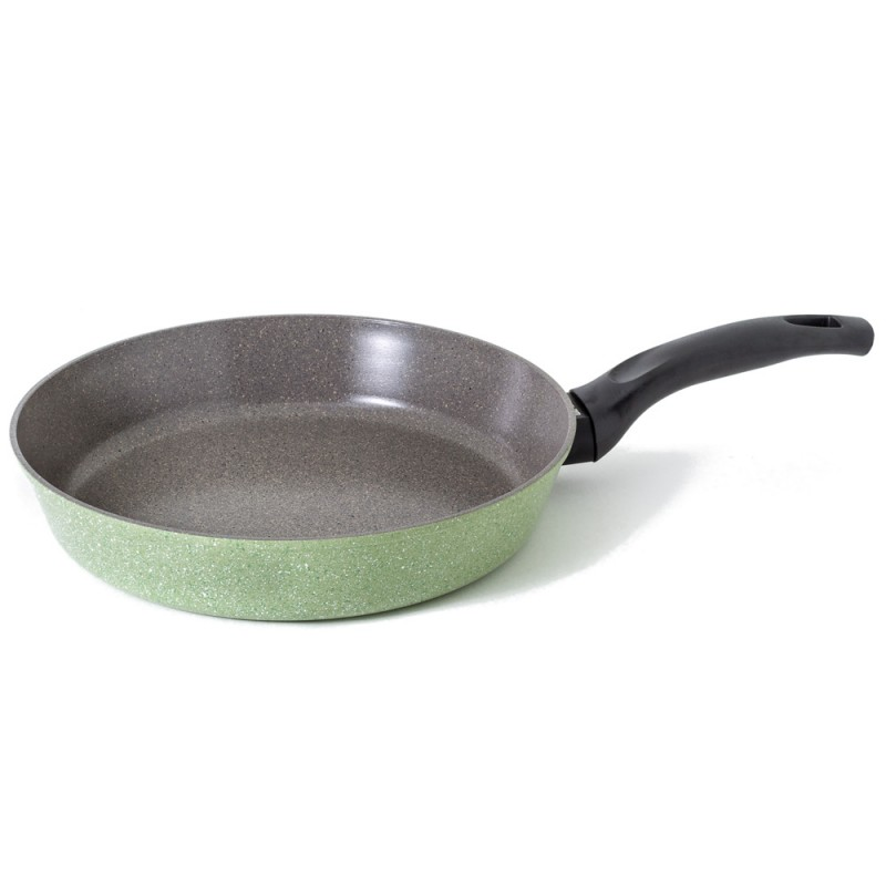 Neoflam Luke Hines 2 Piece Set 24cm & 28cm Frypan Induction Green & Pink Marble