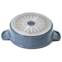 Neoflam 24cm Low casserole Induction Marble
