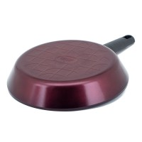 Neoflam MyPan 2 Piece Set 24cm & 28cm Frypans Induction Red Ruby