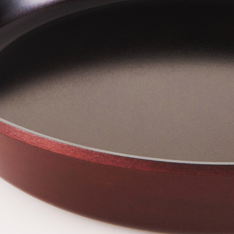 Neoflam MyPan 28cm Wok Pan Induction Red Ruby