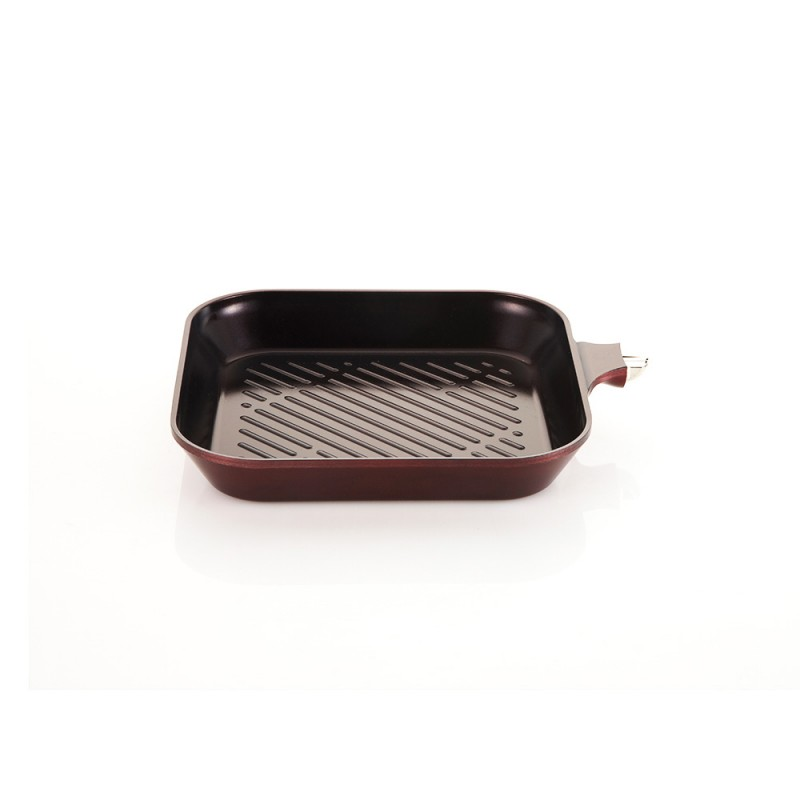 Neoflam MyPan 28cm Grill Pan Induction Red Ruby