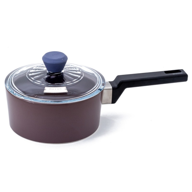 Neoflam Motus 18cm Sauce pan Non-Induction Light Purple