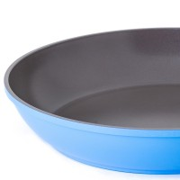 Neoflam Nature+ 30cm Fry Pan Induction Sky Blue
