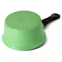 Neoflam Nature+ 18cm Sauce Pan Induction Apple Green