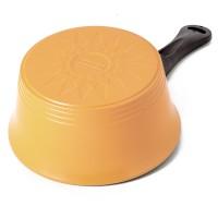 Neoflam Nature+ 18cm Sauce Pan Induction Pearl Orange