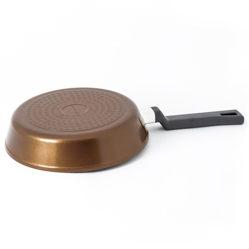 Neoflam Reverse 24cm Fry pan / Saute Induction Terra Garnet