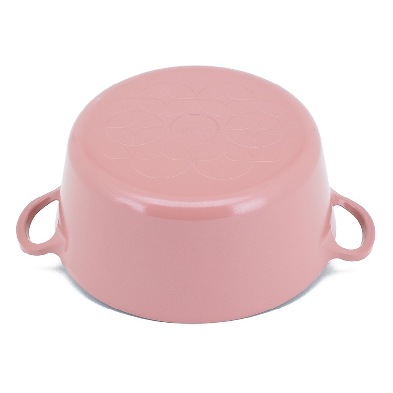 Neoflam Retro 22cm Stockpot Non Induction with Die-Cast Lid Antique Pink ** Online Exclusive **