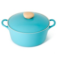 Neoflam Retro Induction Set - 6pc Fry pan, Saucepan and Casserole