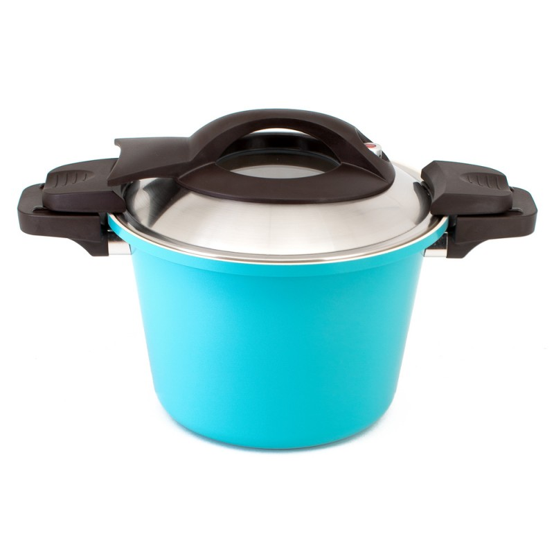 Neoflam Retro Low pressure 26cm Induction with Stainless Lid Mint