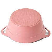 Neoflam Nature Chef Roca 20cm Casserole Induction with Die-Cast Lid Pink