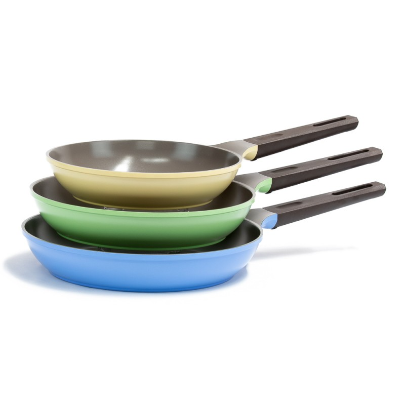 Neoflam Nature+ 24cm, 28cm and 30cm Induction Fry pan
