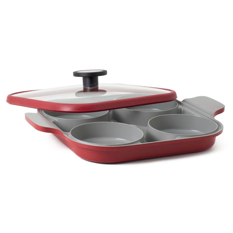 Neoflam Steamplus 27cm Two Handle pan Induction