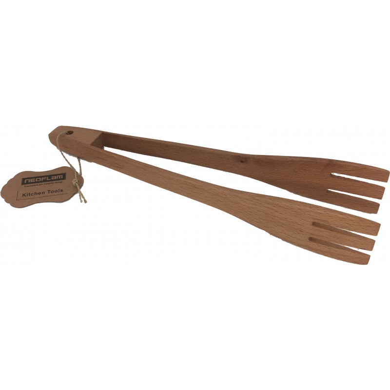 Neoflam Beechwood Tongs