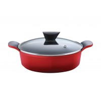 Neoflam Venn 32cm Low Casserole induction Red