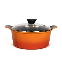 Neoflam Venn 28cm Casserole Induction Orange