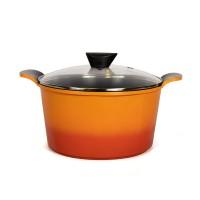 Neoflam Venn 26cm Deep Casserole induction Orange