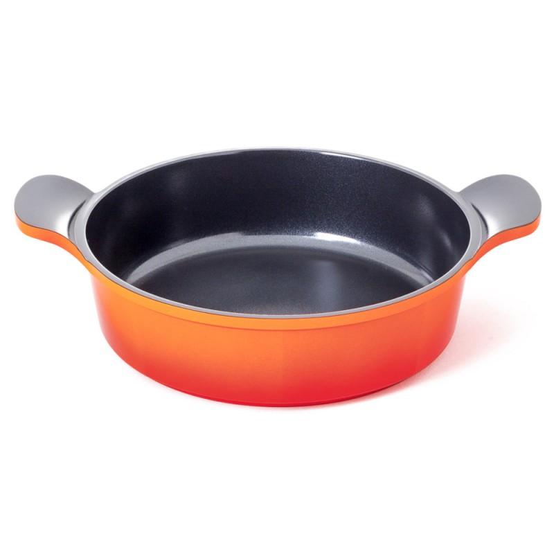 Neoflam Venn 24cm Low casserole Induction Orange
