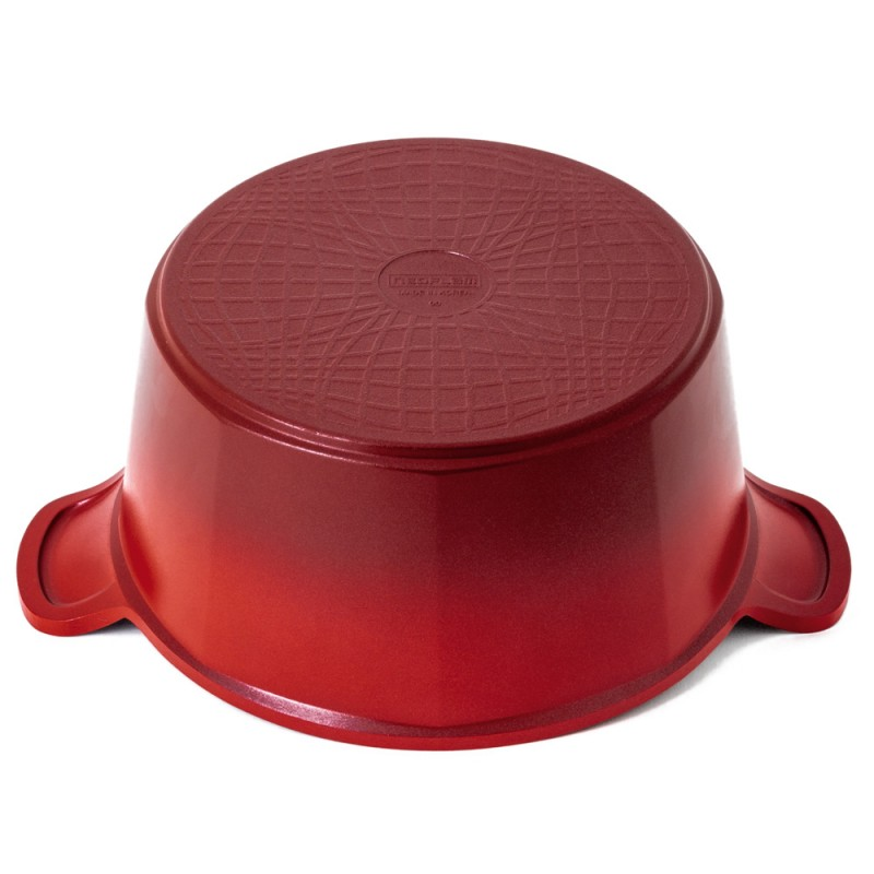 Neoflam Venn 24cm Casserole Induction Red