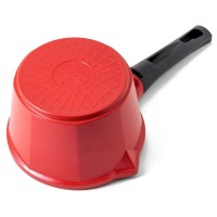 Neoflam Venn 14cm Milk Pan Non-Induction Red
