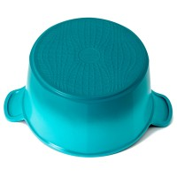 Neoflam Venn 26cm Deep Casserole induction Turquoise