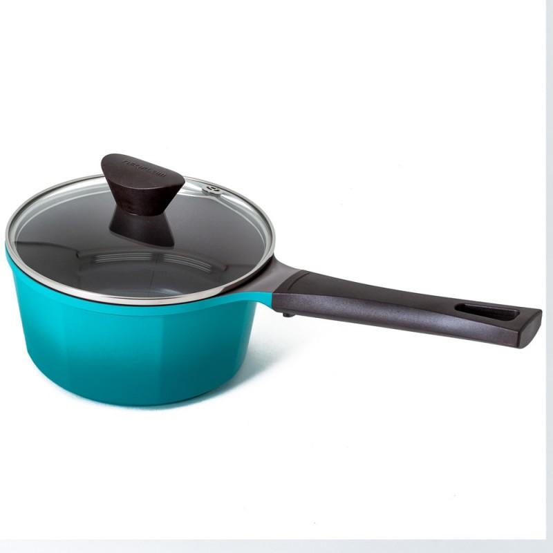 Neoflam Venn 18cm Sauce Pan Induction Turquoise