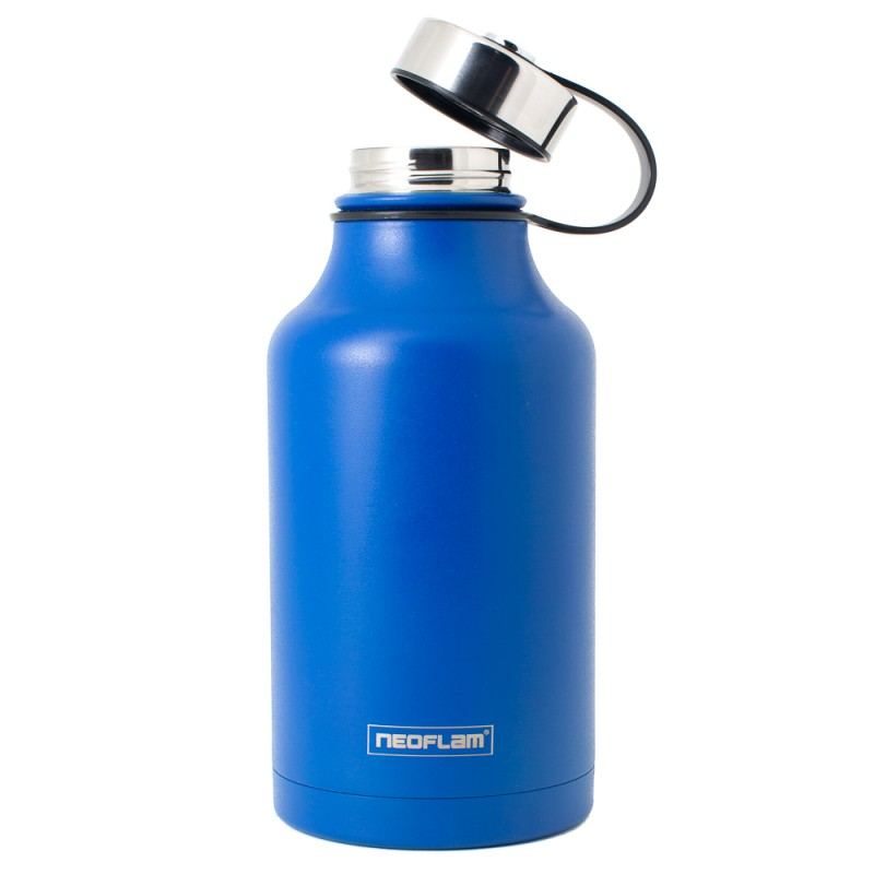 All Day S/Steel, Double walled and Vacuum Insulated Water Bottle 1.9L Blue