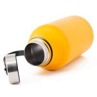 All Day S/Steel, Double Walled and Vacuum Insulated Water Bottle 1.9L Yellow