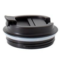 Neoflam Coffee Mug 380ml Stainless Steel Double Walled Vacuum Sealed Leak Proof Black