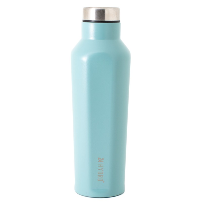 Neoflam Hydro24 500ml Stainless Steel Double Walled and Vacuum Insulated Water Bottle Ocean Mint