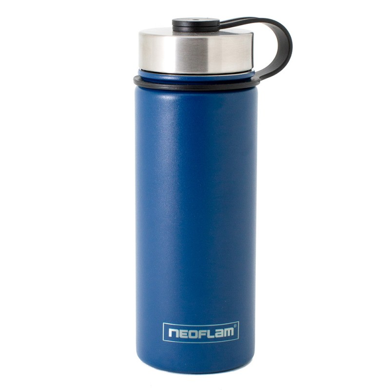 Neoflam Skinny 500ml Stainless Steel Double Walled and Vacuum Insulated Water Bottle Sky Blue