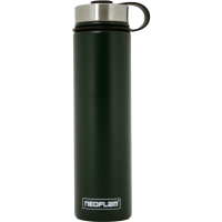 Neoflam Skinny 750ml Stainless Steel Double Walled and Vacuum Insulated Water Bottle Green Jade